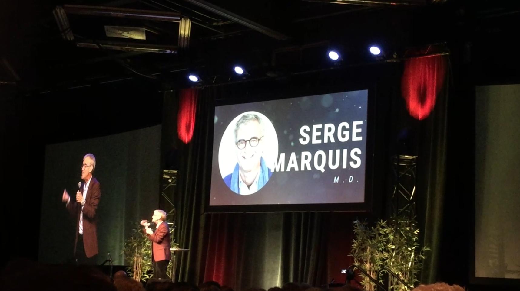 Conférence de Serge Marquis au Palais des Congres Montreal