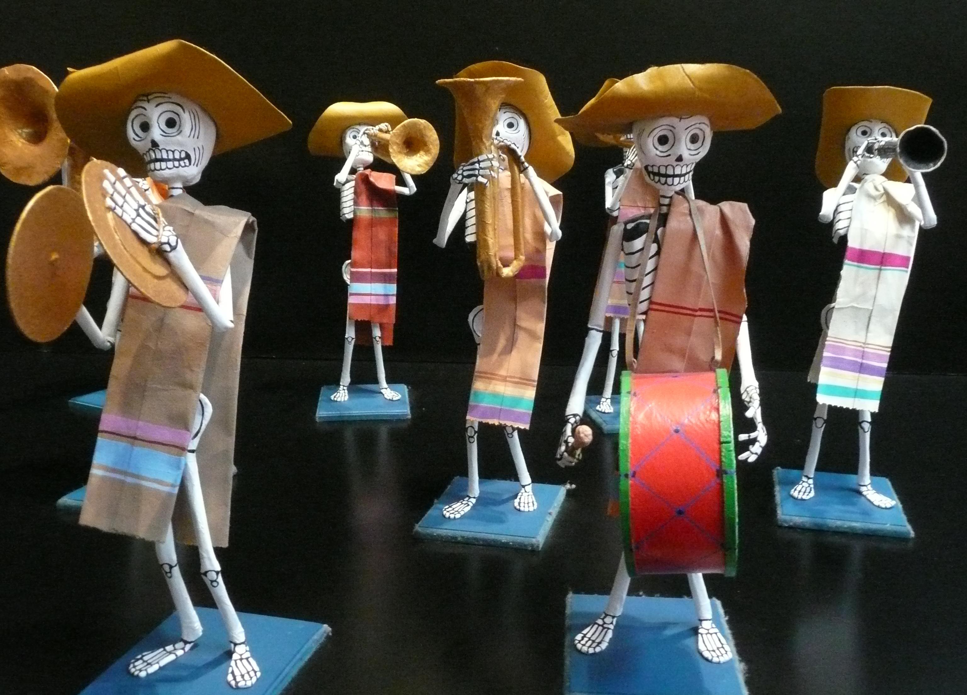 Calaveras - Julia Braga - Musée de Mexico