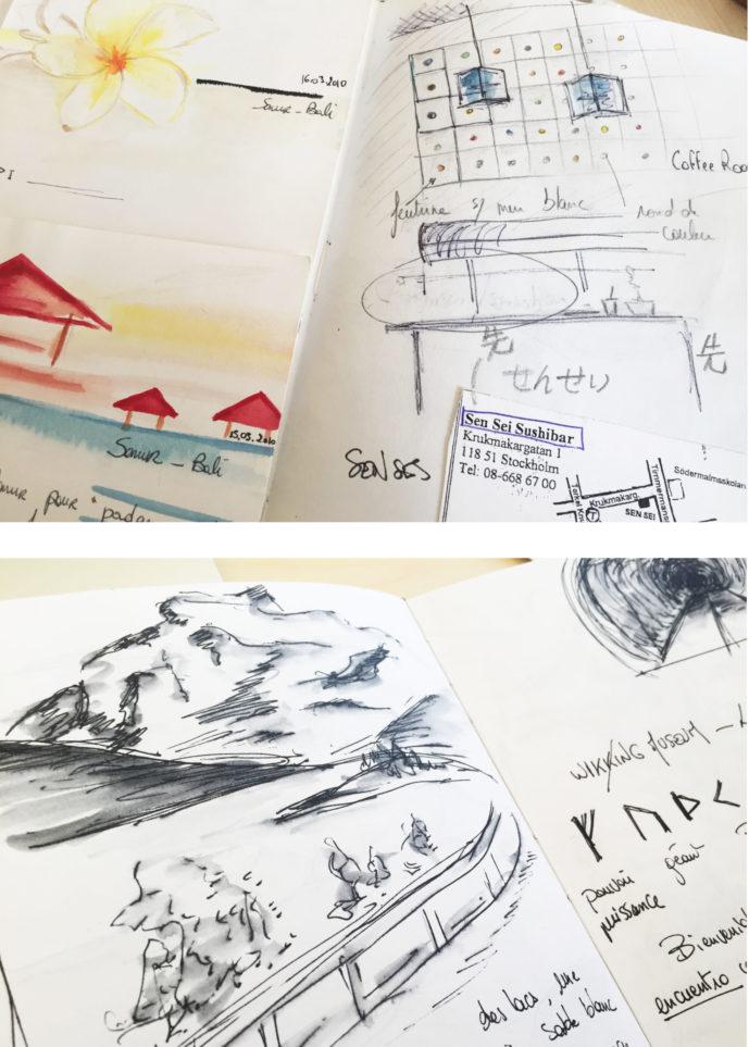 Extrait de mes carnets de voyages Julia Braga