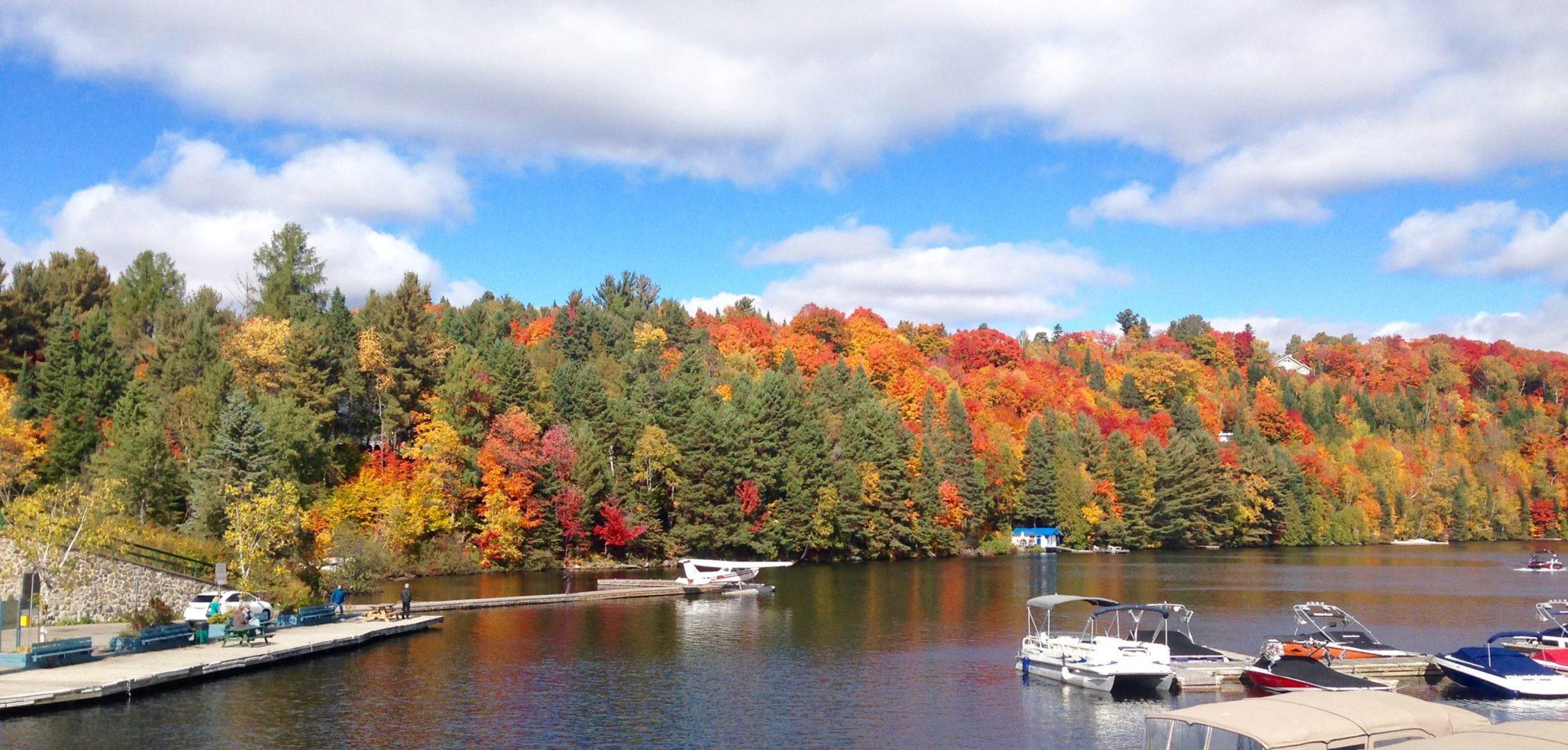 Hydravion automne Canada - Photo Julia Braga