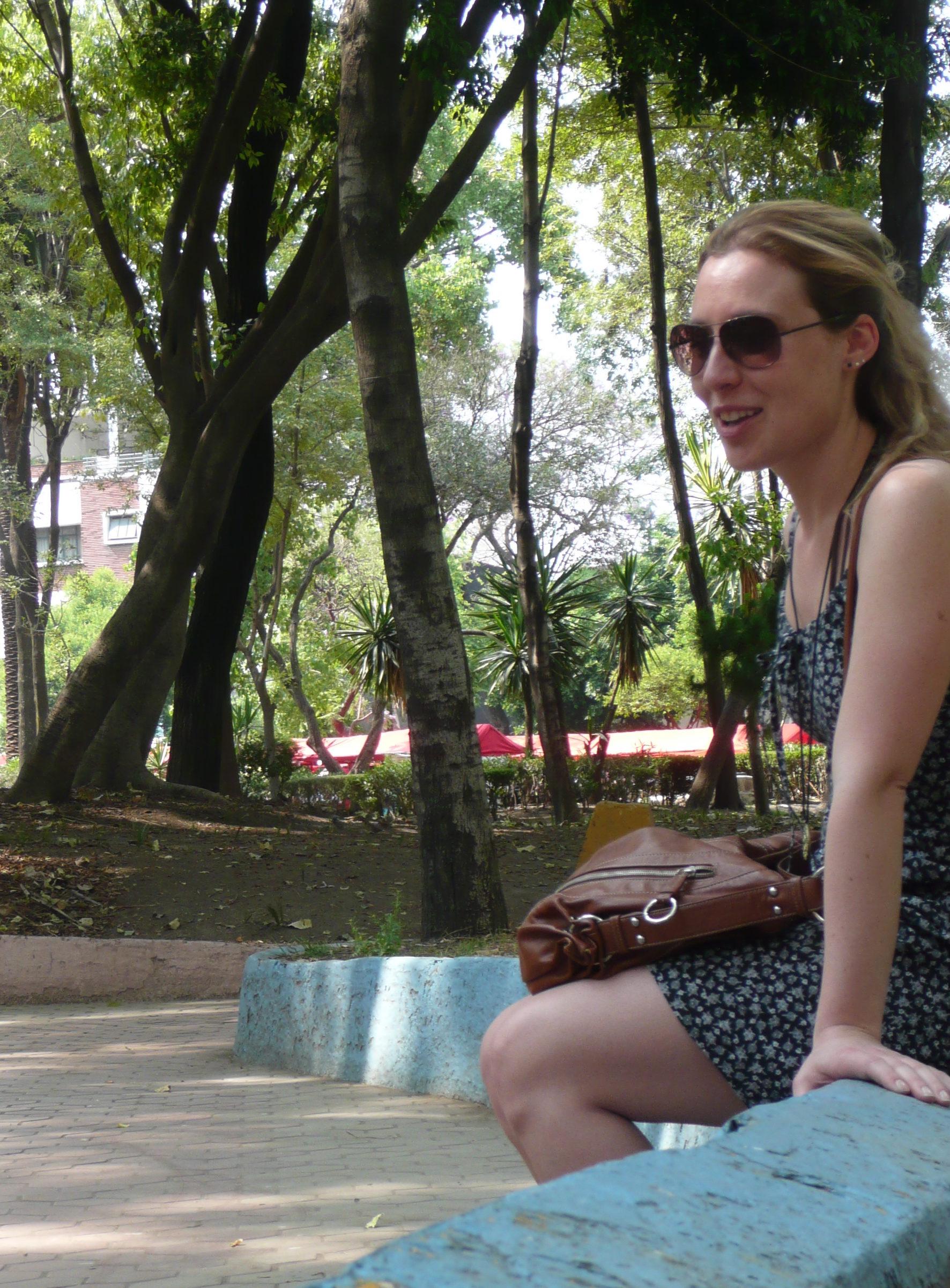 Julia Braga à Mexico