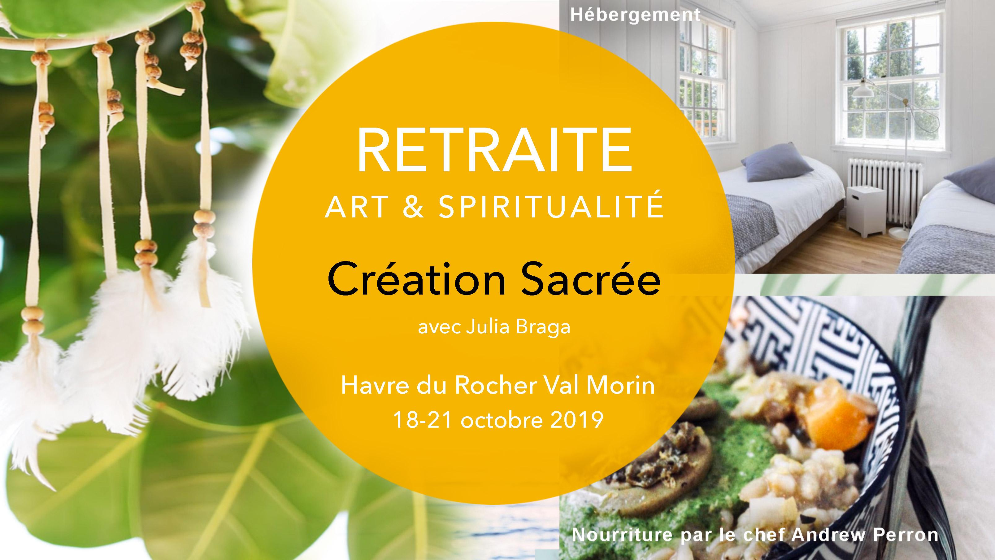Retraite Création Sacrée - octobre 2019 - Image promo